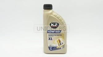 K2  Двигателно масло 10W-40 1L  PETROL /DIESEL/LPG