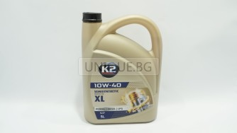 K2  Двигателно масло 10W-40 5L  PETROL /DIESEL/LPG