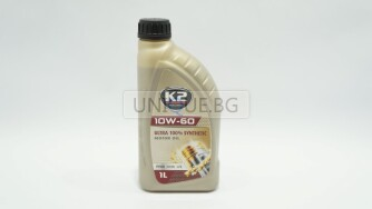 Двигателно масло K2 TEXAR 10W-60 XN RACING 1L