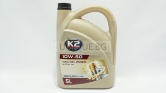 Двигателно масло K2 TEXAR 10W-60 XN RACING 5L